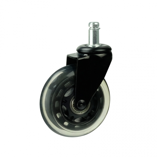 3 inch PU Rollerblade Style casters
