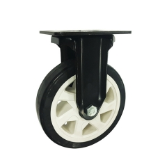 Medium-heavy duty pu rigid caster