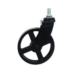 threaded stem swivel caster wheel